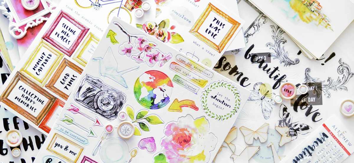 5 Essential Scrapbook Embellishments