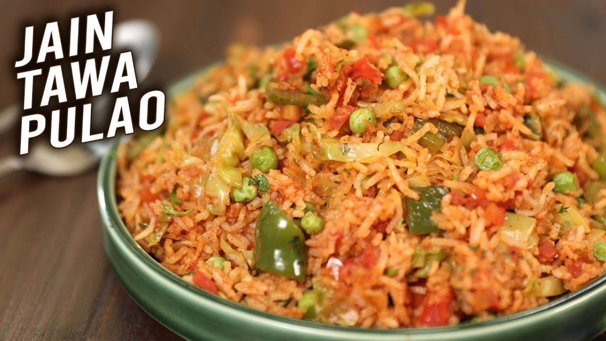 Recipe Of Jain Tawa Pulao – Restaurant Style Pulao At Home